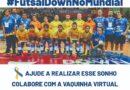 Criada 'vaquinha' virtual para ajudar a Seleção de Futsal Down