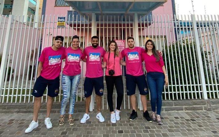 Passo Fundo Futsal realiza ação especial às mulheres com câncer de mama